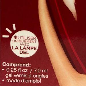 Sally Hansen Makeup - Sally Hansen Salon Gel Polish Step 2 Gel- Red Zin